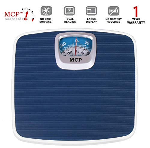 2) MCP Deluxe Personal Weighing Scale upto 130 kgs capacity (Mechanical Weighing Machine)