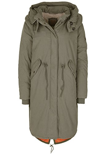 True Religion Damen Parka Oversized