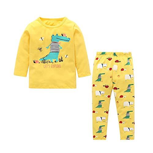 (Baby Junge Kleidung Outfit, Honestyi Kleinkind Kinder Baby Jungen Bart T Shirt Tops + Shorts Hosen Outfit Kleidung Set (Gelb,))