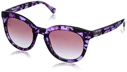 Dolce & Gabbana Damen Sonnenbrille DG4249, Rosa (Violet Marble 29128H), One size (Herstellergröße: 50) (Dolce Sonnenbrille Rosa)