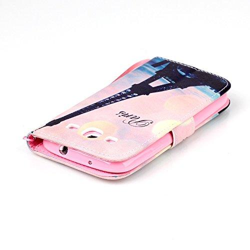 Meet de Samsung Galaxy S3 i9300 i9305 Bookstyle Étui Housse étui coque Case Cover smart flip cuir Case à rabat pour Galaxy S3 i9300 i9305 Coque de protection Portefeuille - this iphone is locked slide tour penchée