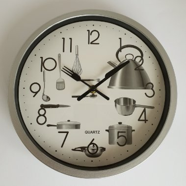 Quartz Reloj de Pared 25cm. - Cocin