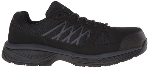 Skechers Work Men's Conroe Searcy Slip Resistant Work Shoe Black