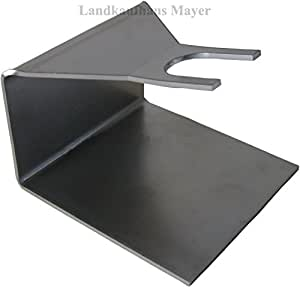 landkaufhaus mayer bag in box abf llhalter f r saftbeutel saftschl uche aus edelstahl amazon. Black Bedroom Furniture Sets. Home Design Ideas