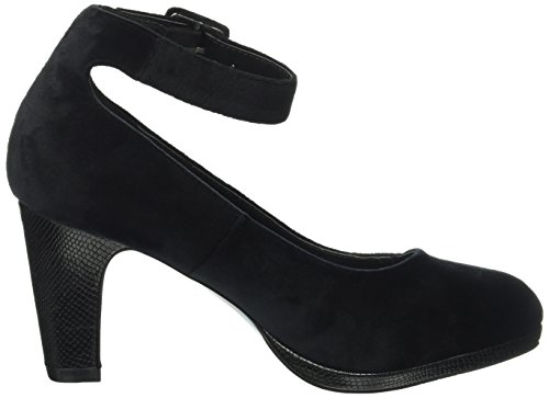 Another Pair of Shoes Patriciaae4, Scarpe con Plateau Donna Nero (Black/Grey775)