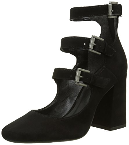 Bronx Damen Aleza Pumps, Schwarz (Black 01), 39 EU (6UK)