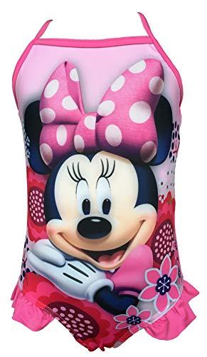 Bañador para niña con diseño de Minnie Mouse, Color Rosa Variante 1. 6 años