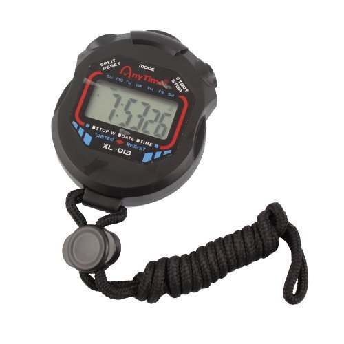 Digital Professional Handheld LCD Chronograph Timer Sports Stopwatch Stop Watch by Generic