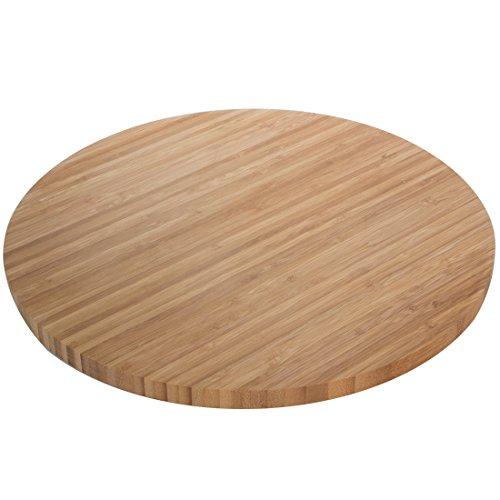 Levivo Bambus Tablett, drehbar, Ø ca. 35 cm gebraucht kaufen  Wird an jeden Ort in Deutschland