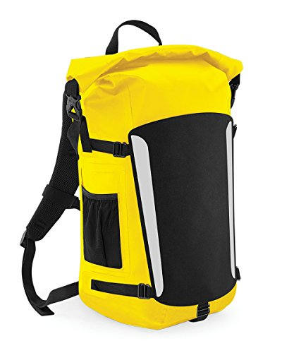 Quadra, Borsa a spalla donna Yellow/Black