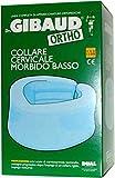 Ortho - Collare Cervicale Ortopedico Morbido Basso Colore Azzurro Taglia 1