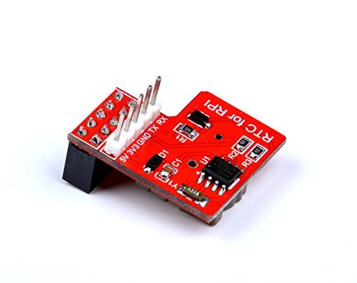 DS1307 RTC Module with Battery for Raspberry Pi B/A+/B+/2 model B/3 model B, Keep a Real Time Clock for a Long Time After the Pi Has Powered Down
