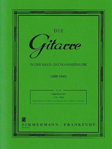 Zweites Quintett C-Dur: La Ritirata di Madrid. 2 Violinen, Viola, Violoncello und Gitarre. Stimmensatz. (Die Gitarre in der Haus- und Kammermusik) -