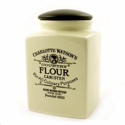 Groß Gummi-lagerung-container (Charlotte Watson Mehl-Vorratsbehälter (quadratisch, groß))