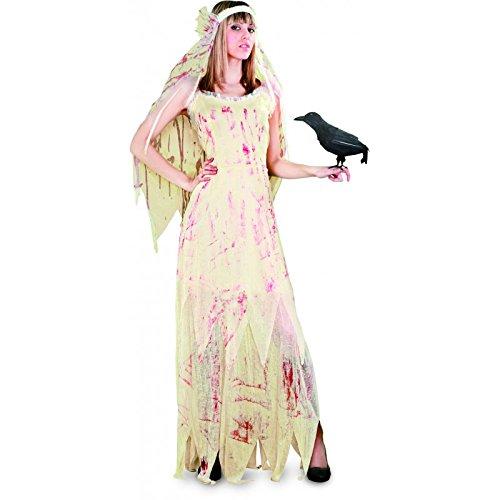 Imagen de disfraz novia cadáver mujer