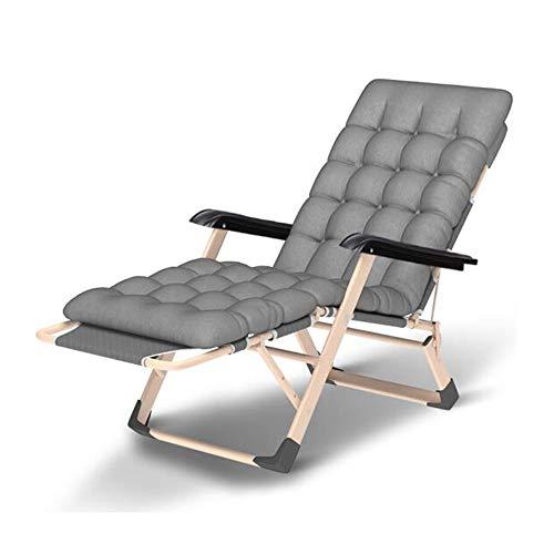 Fauteuils inclinables Feifei Chaise Longue de Jardin Terrasse extérieure Camping Chaise Longue en Aluminium résistant aux intempéries (Couleur : 02)