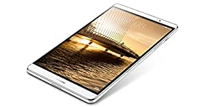 Huawei Mediapad M2 8.0 4G Argento e bianco