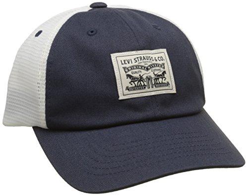 Levi's Herren 2-Horse Patch Cap Schirmmütze, Blau (Navy Blue), One Size (Herstellergröße: UN) -