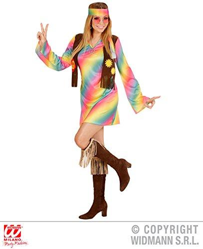 KOSTÜM - HIPPIE GIRL - Größe L, Woodstock Festival 60er 70er Jahre Hippies Blumenkinder Flower Power