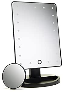 21 Led Lighted Makeup Mirror Vanity Mirror With Touch