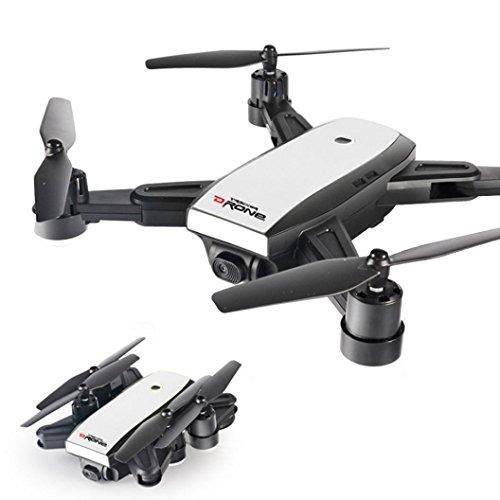 Lanspo Intelligente Drohne, Upgrade LH-X28GWF Dual GPS FPV Quadcopter mit 720P HD Kamera Wifi Headless-Modus