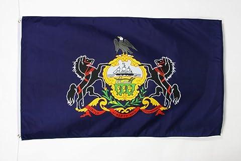 PENNSYLVANIA FLAG 3' x 5' - US STATE OF PENNSYLVANIE