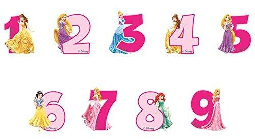 Disney Princess fête Âge 2Bougie gâteau