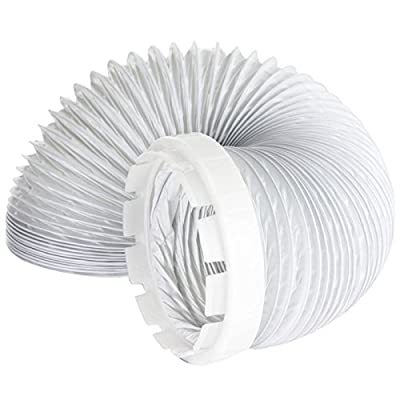 Vent Hose & Adaptor Kit For Indesit Tumble Dryer (2 Metres, 4'' Fitting) by SPARES2GO