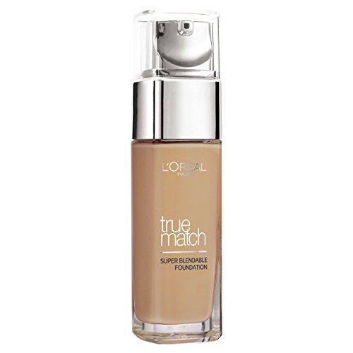 L Oreal-kits (L'Oréal Paris Foundation Perfect Match, deckendes Make Up - perfekte Verschmelzung mit dem Hautton & 24h Feuchtigkeit)