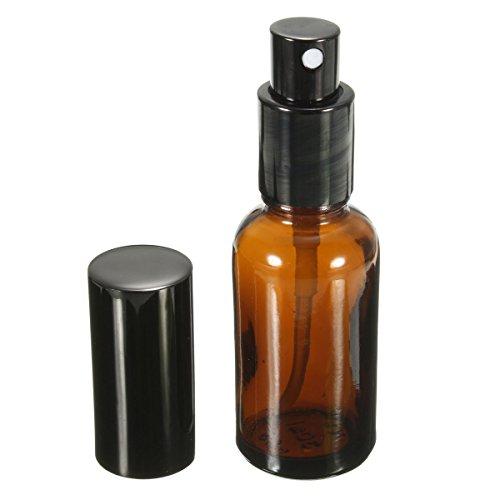 Bluelover 30Ml Ambre Verre Atomiseur Bouteille Rechargeable Flacon Vaporisateur Huile Essentielle Lotion Parfum Bouteilles De Rechange
