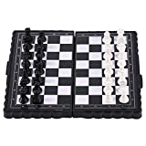 Garciaria Portable Folding Magnetic Pocket Plastic Chess Chess Entertainment for Party