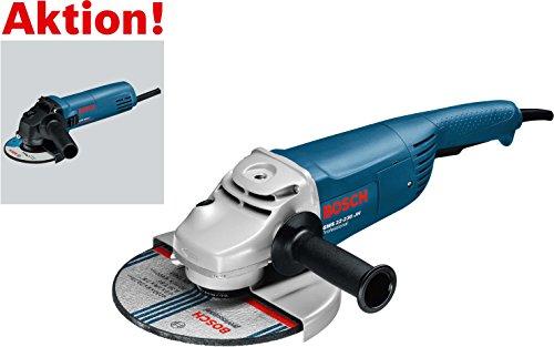 Preisvergleich Produktbild Bosch 0615990H1Z Winkelschleifer Set Professional, Schleifer GWS 22-230 JH plus GWS 850 C inklusive Zubehör in Handwerkerkoffer, 2200 W, 230 V