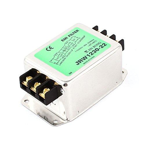 AC 115V/250Volt 30A Nennstrom Metall Gehäuse Power Line EMI Filter de -