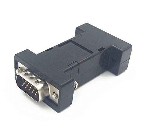 VGA EM-EDID-HD15 Pass-Through-EDID-Emulator zur Verwendung mit Videosplittern, Switches und Extendern KVM (1920X1080 @ 60hz) -