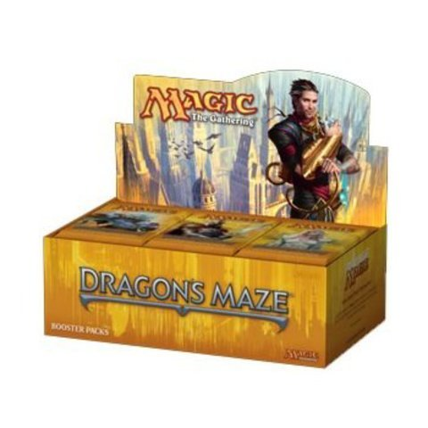 Magic the Gathering (MTG) Dragon Boîte de labyrinthe Booster (Lot de 36). Trading, miniature de collection, jouet, échange
