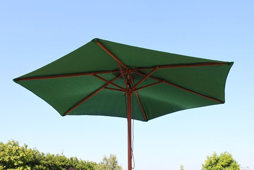 olive-grove-25m-wide-garden-parasol-in-green-with-tilt-crank
