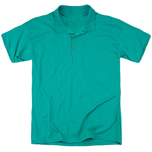 DC Comics Herren Poloshirt Kelly Green