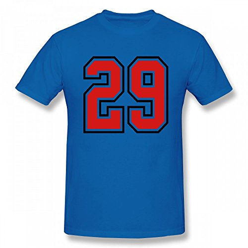 29 Sports Jersey Football Number Customizable Personalized Men s T-Shirt tee 94ee65ebd