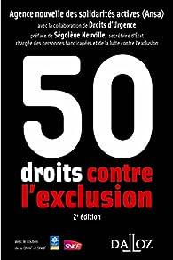 50 droits contre l'exclusion - 1ère édition par Luis Ansa