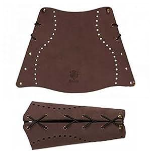 Nouveau Strele Tir à l'arc cuir traditionnelle protège-bras (grand)