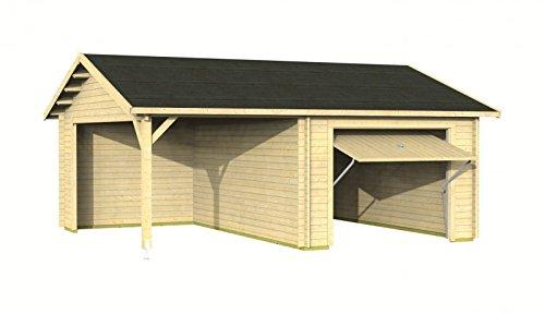 Palmako Holzgarage Garage 5 mit Schwingtor