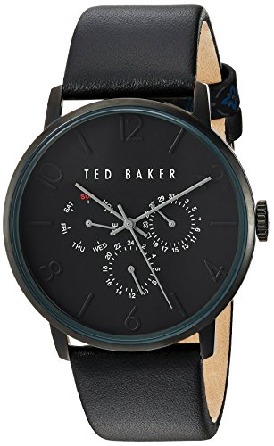 Montre TED BAKER Cuir - Homme - 42x47mm