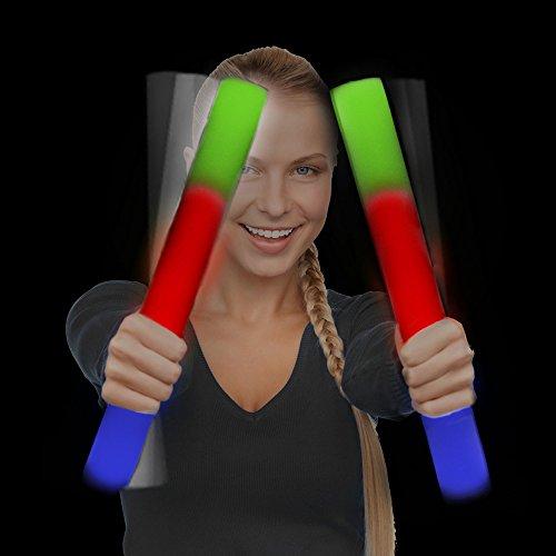 fun-central-ac894-led-foam-stick-baton-supreme-multicolor-12-pack