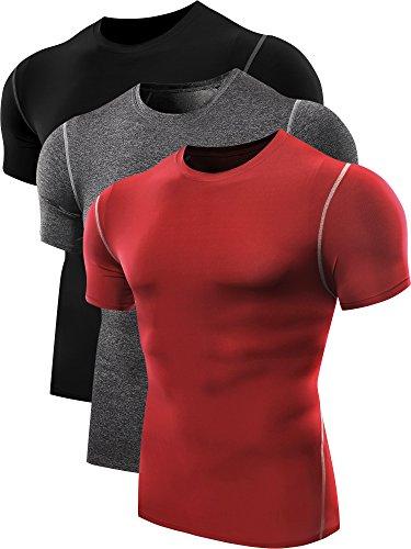 neleus-mens-3-pack-compression-workout-sport-short-sleeve-shirt3blackgreyredm