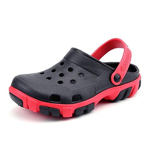 WXFZ Scarpe Uomo Sandali Scarpe con Scarpe Maschili Zoccoli Zapatos De Sandalias Hombre Sandali Uomini Pantofole estive Scarpe Basse da Passeggio Adatte per la Spiaggia Bagni