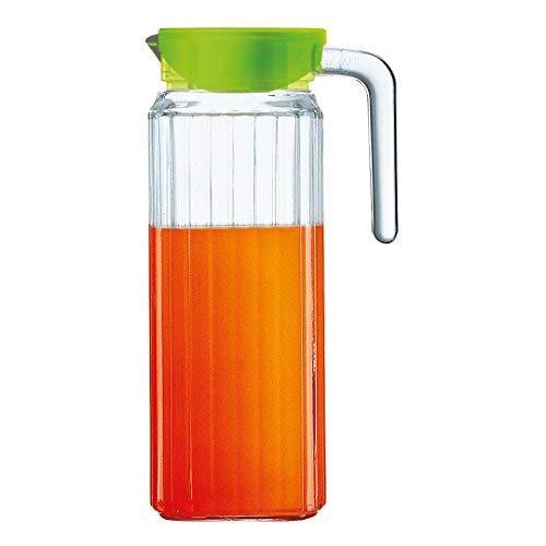 Luminarc Keep´n´ Jug Kühlschrankkrug mit Deckel 1100ml, Glas, transparent, 1 Stück