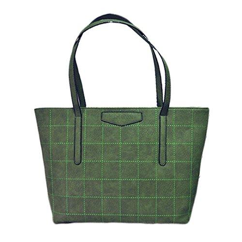 Millya, Borsa tote donna verde verde Taglia unica verde