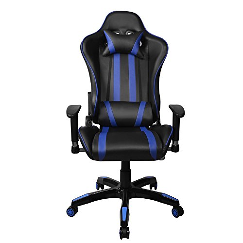 Fauteuil Gamer Racing Inclinable 4D Accoudoirs Reglable Chaise