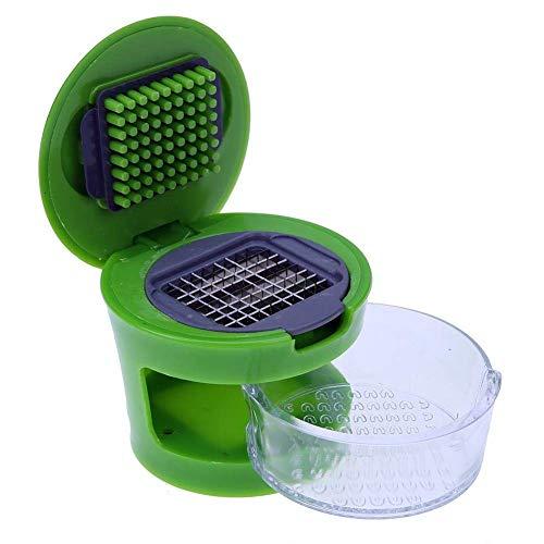 param Garlic Press Mini Chopper/Peeler/Slicer/Mincer/Cutter/Crusher/Dicer (Multicolour)