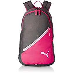 Puma 17 Ltrs Grey-Pink Casual Backpack (7512102)